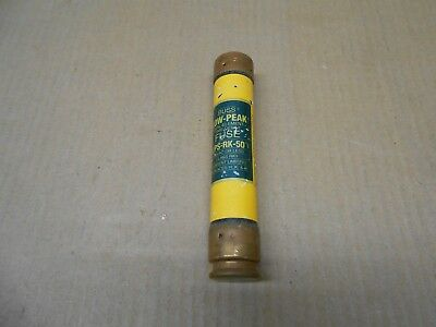 1 New Bussmann Low-Peak Time Delay Fuse Class Rk1 50Amp 600Vac Or Less