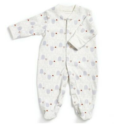 Natures Purest Organic Cotton My First Friends Footless Sleepsuit 3-6mts (0196B)