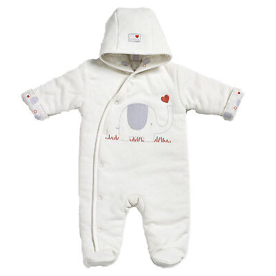 Natures Purest My First Friend Elephant Snowsuit - 0-3 months (0187A)