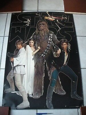 Vintage Star Wars poster 1977 original !