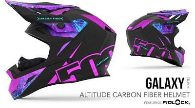 509 Snow Products Altitude Carbon Snow Helmet Galaxy (SIZE SM, LG)