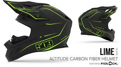 509 Snow Products Altitude Carbon Snow Helmet Lime (SIZE MD, LG, 2XL)