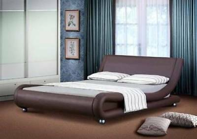 Cassi Modern and Contemporary Faux Leather Bed 5FT or 4FT  B301