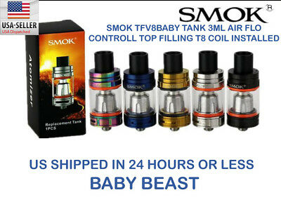SMOK TFV8 Baby Beast Replacement Tank  TANK ONLY