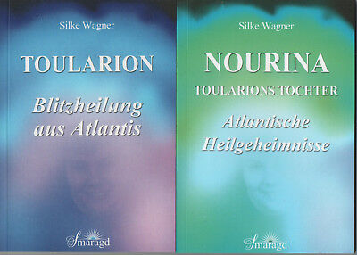TOULARION + TOULARIONS TOCHTER - Silke Wagner 2 x BUCH - NEU