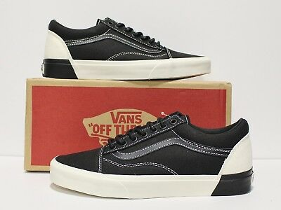 VANS OLD SKOOL DX Blocked Classic White Black Men s Size 7.5 ... e349b3e7991
