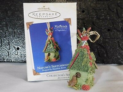 Hallmark ~ Natures Sketchbook ~ 2003 ~ Birdhouse ~ #1 in Series ~ NIB