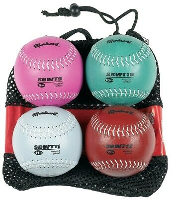 Markwort 30cm Softball Weighted Set (9, 10 , 11 and 350ml). Shipping Included