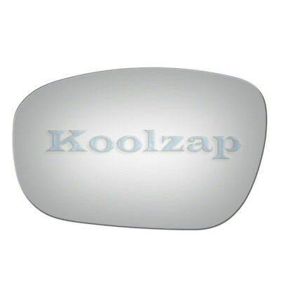 Kool Vue Mirror Glass Compatible with Chrysler Charger//Chrysler 300//Magnum 2005-2010 Mirror Glass Driver Side Heated with Backing Plate
