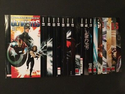 Marvel Ultimate Comics, The Ultimates #s 1-16,19, (2011)