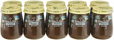 Beech-Nut Organic Stage 1 Prunes Baby Food, 4.25 Oz, (Pack Of 10)