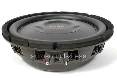 "Infinity REF1000S 800 Watts 10"" Selectable Impedance Shallow Mount Subwoofer"