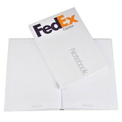 "FedEx Express Notebook 11.5"" x 8.25""  192 blank pages, ruled and perforated"