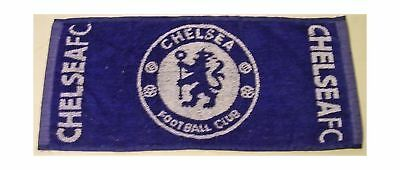 """Chelsea FC London cotton bar towel from England 19"""" x 9"""" (pp)"""
