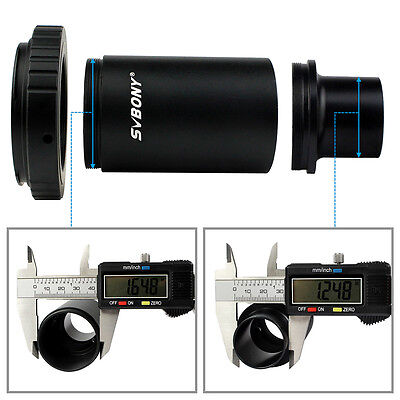 """SVBONY 1.25"""" Extension Tube T2 Ring M42 Thread T-Mount Adapters for Canon Camera"""