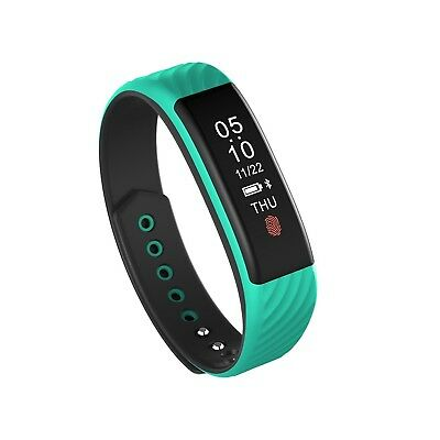 (cyan) - Fashion Bluetooth Health Monitoring Heart Rate Bracelet Sleep IP67