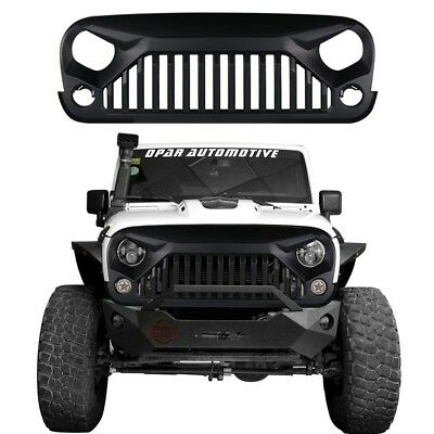 New Arrival Angry Bird Style Grill Grille for 2007-2018 Jeep JK Wrangler AU SHIP