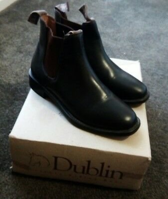 Gorgeous brown 'Hawkesbury' all leather riding boot by Dublin, Sz 5.5/38, as new