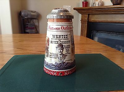 Anheuser-Busch BUTCH CASSIDY HOLE IN THE WALL  Stein 2002