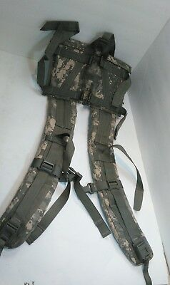 Molle II Rucksack Enhanced Shoulder Straps ACU with out Quick Release used