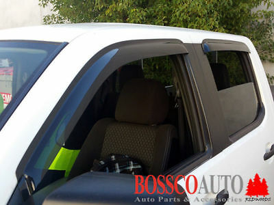 Weathershields suitable for Ford Ranger / Mazda BT-50 2006-2011