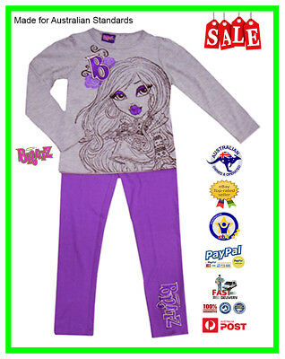 GENUINE AUS LICENSED Teen Girls Kids Bratz Pyjamas PJ's Set SALE