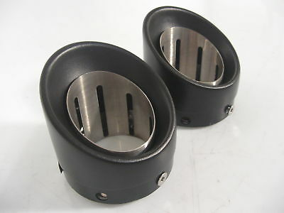 "Harley-Davidson Milwaukee-Eight Street Cannons 4.5"" Endkappen *65100084*"