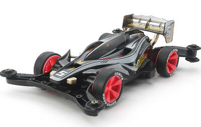 TAMIYA 95376 Mini 4WD Racer Limited 1/32 Aero Avante Black Special AR Chassis