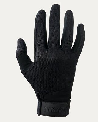 (8 UK, Black - Black) - Noble Outfitters Perfect Fit Cool Mesh Glove