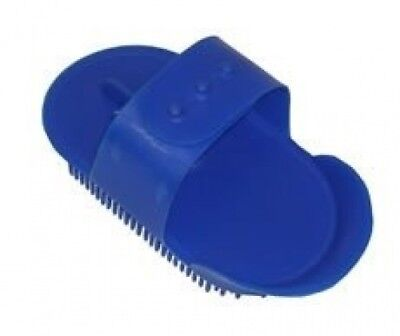 (Black) - Small Childs Plastic Curry Comb, Colours Available: Red, Blue, Pink,