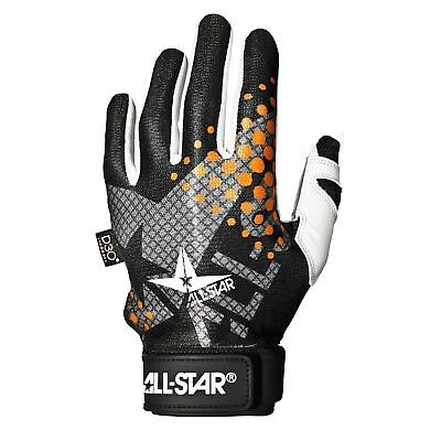 (Large, White|Orange) - All-Star System 7 Youth Protective Catcher's Inner Glove