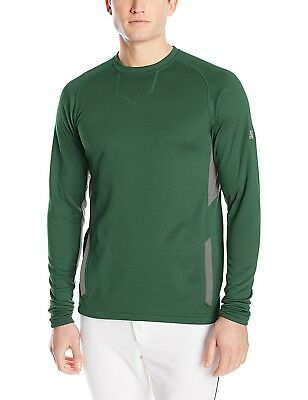 (X-Large, Team Dark Green) - New Balance Baseball Pullover. Delivery is Free