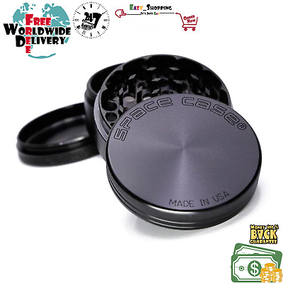 """Space Case Grinder - Sale 2.5"""" (63mm)*FAST SHIPPING!* best price! NEW Aluminum"""