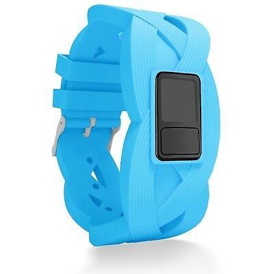 (Regular Fit(16cm  - 20cm ), Blue) - iBREK Garmin Vivofit 3 JR Replacement