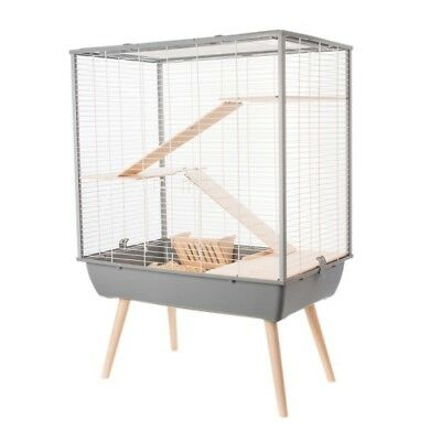 CAGE POUR LAPIN/CAGE LAPIN NAIN/CAGE COCHON D'INDE GRISE Réf Z205620GRI