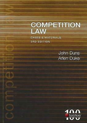Competition Law Cases & Materials - 3rd edition