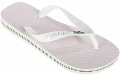 58b78136f Havaianas Brasil Mens Flip Flops Beach Pool Sandals Summer Shoes New 0001