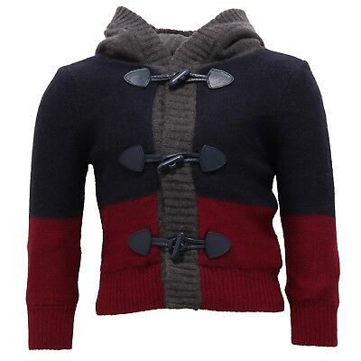 3529V maglione bimbo ASTON MARTIN cardigan blue sweater boy kid