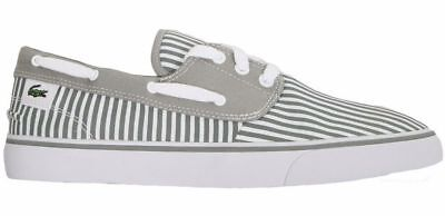 Lacoste Live Mens Grey Lacoste L!ve Barbuda 1 Lem Trainers Grey Sizes 9 - 95cad8b73a