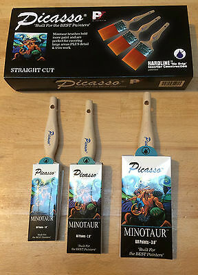 Proform Picasso Minotaur Brush Set - straight cut