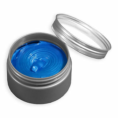 Authentic Hair Wax Ash Mud Hair Dyes Color Paint Hairstyle One Time Day BLUE