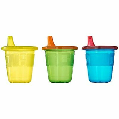 Take & Toss Spill-Proof 7 Ounce Cups 6 Ea Assorted Colors