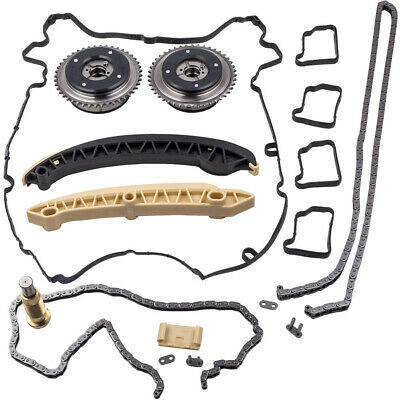 For Mercedes Timing Chain Kit Camshaft Adjuster Gears M271 Petrol Kompressor