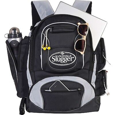 Louisville Slugger Clubhouse Collection Back Pack, Black. Huge Saving