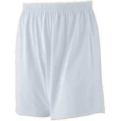 (X-Small, Ash) - Augusta Sportswear BOYS' JERSEY KNIT SHORT. Delivery is Free