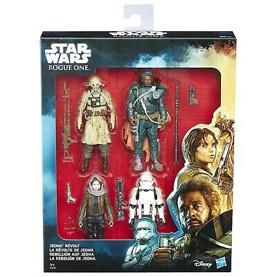 Special BOX 4 Figure Action RIVOLTA DI JEHDA Star Wars ROGUE ONE Original HASBRO