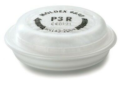 3 Pairs - MOLDEX 9030 P3 R Particulate Filters - For 7000 / 9000 Series Masks