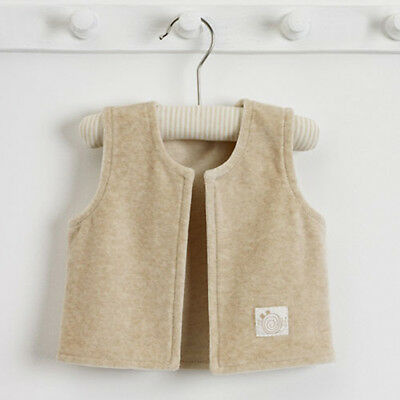 Natures Purest Spots & Stripe Gilet In Gift Bag 0-3 Months Unisex (0076B)