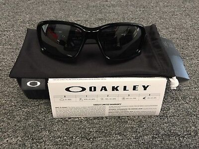 f13b655c7d Oakley Straightlink OO9331-01 Polished Black w Black Iridium Sunglasses