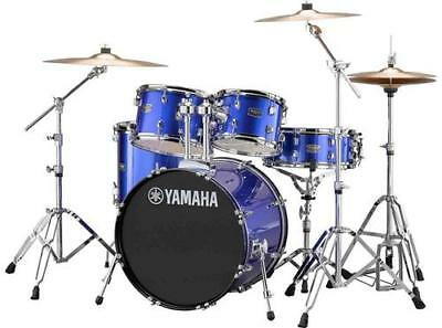 "Yamaha Rydeen 5-Piece Shell Kit - 20"" Bass Drum - Fine Blue"